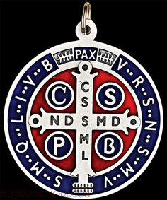 The medal-crucifix of St. Benedict must be BLESSED by a priest or by a deacon.   St. Benedict's medal is known to receive a blessing from priests so that it can deter the powers of evil as in storms, poisons, pestilence, legions of demons, etc. When you use this medal you call upon the intercession of St. Benedict.   It has been the custom to place this medal or the miraculous medal around the house to encircle it with heavenly protection.
