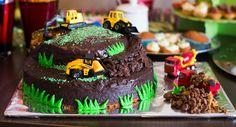 Baustellen Kuchen