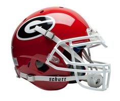 Georgia Bulldogs Schutt XP Authentic Full Size Helmet
