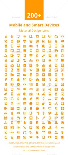 200+ Mobile and Smart Devices Icons. Download here: https://graphicriver.net/item/200-mobile-and-smart-devices-icons/17674018?ref=ksioks