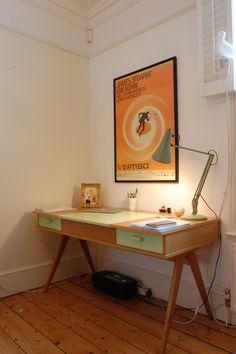 Design, colour and quality of workmanship of the Stroller Desk. (made.com)