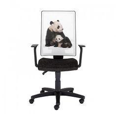 Ученически стол NATURA Panda - Черен