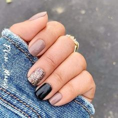 Classy Nails, Stylish Nails, Fancy Nails, Pink Nails, Cute Nails, Pretty Nails, Nail Color Combos, Fall Nail Colors, Gel Color
