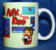 ALEX KIDD in Miracle World - Coffee Mug