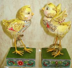 Jim Shore Spring Chicks