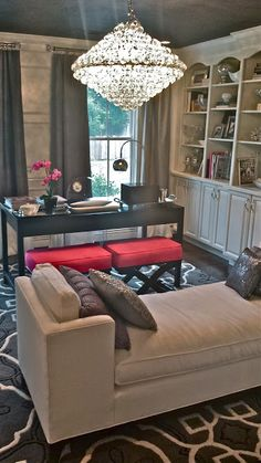 South Shore Decorating Blog: Office Reveal (Last One - It's DONE!)