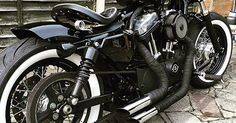 Bobbers, Motorcycle rides and Motorcycles on Pinterest