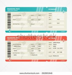 fake boarding pass template - printable airplane boarding pass invitations coolest