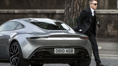 The Aston Martin stars alongside Daniel Craig in the new James Bond movie, Spectre and now Aston Martin has released a new video of the video below gives us a look at the design of the … James Bond Suit, Bond Suits, New James Bond, James Bond Movies, James Movie, Aston Martin Db10, Daniel Craig, Maserati, Ferrari