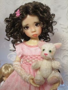 Emily (Nyssa) with her new Kitty! | Flickr - Photo Sharing!