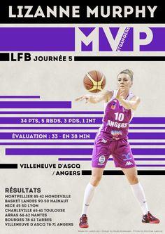 Lizanne Murphy - MVP Etrangère - LFB Journée #5