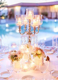 Ballroom elegance: http://www.stylemepretty.com/little-black-book-blog/2015/05/21/romantic-laduree-inspired-tuscany-beach-wedding/ | Photography: Facibeni Fotografia - http://www.photographertuscany.com/