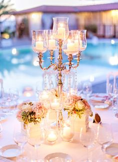 Ballroom elegance: http://www.stylemepretty.com/little-black-book-blog/2015/05/21/romantic-laduree-inspired-tuscany-beach-wedding/ | Photography: Facibeni Fotografia - http://www.photographertuscany.com/