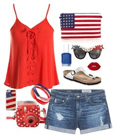 Wishing we were in Rio cheering on Team USA, but we'll settle for creating outfits in the States as if we were there.