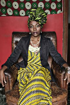 Cores, grafismos e muito estilo marcam a moda inspirada na África