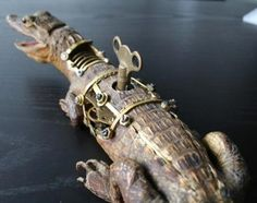 One of Henry's early works, perhaps? [Google Image Result for http://www.geekologie.com/2008/02/28/steampunk-tax-1.jpg]