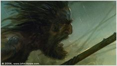 John Howe :: Illustrator Portfolio :: Home / From Hobbiton to Mordor / Cards and Such / Dunlendings Hobbit Films, Legolas And Thranduil, John Howe, Different Races, The Two Towers, Jrr Tolkien, Middle Earth, Lord Of The Rings, Lotr
