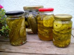 Veggie Bites, Preserves, Pickles, Chutney, Cucumber, Mason Jars, Veggies, Canning, Recipes