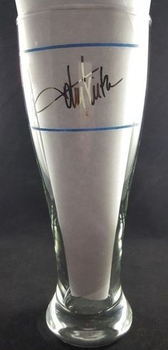 Toby Keith Get Drunk and Be Somebody Souvenir Signed Glass