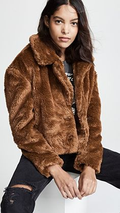 8c757c8298c3 Free People Mena Faux Fur Coat
