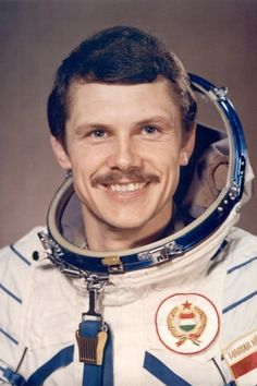 Bertalan Farkas, Hungary's first astronaut ~ 1980 Ukraine, Heart Of Europe, Celebrity Gallery, Central Europe, Space Travel, Fulton, Childhood Memories, Famous People, Budapest