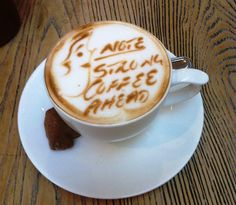 Warning - Strong Coffee Ahead @ Life, Hyde Park