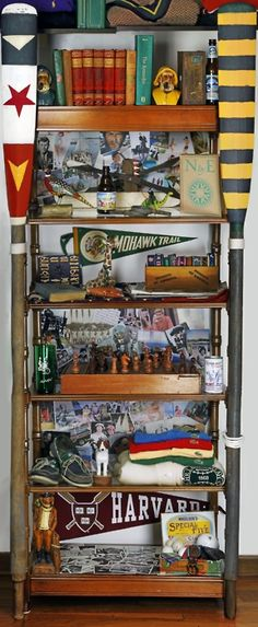 Display your collections the collegiate way.