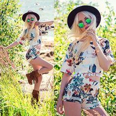 Tropical wilds Set( top and shorts) and shoes from @sammydressfashion @lookbook More photosfashionsecrets-oksana.blogspot.com #me #model #day #dailylook #ootd #outfit #streetstyle #streetfashion #stunnig #amazing #bohemian #gypsy #beautiful #nofilter #beautifulgirl #blogger #fashion #f4f #followme #fashionblogger #fashionsecretswithoksana #fashionista #fashiongirl #l4l #liker #boho #likeforlike #like4like #style #lookbook by oksana_orehhova