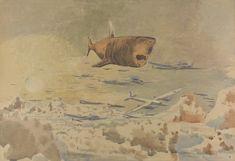 <em>Follow the Führer Above the Clouds</em>, 1942 by Paul Nash.
