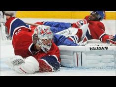 pk subban and carey price enjoy ; Goalie Gear, Hockey Goalie, Montreal Canadiens, Hockey Stuff, Nhl, Rest, Star Wars, Superhero, Baby
