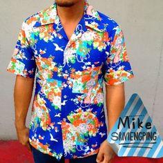 Vintage hawaiian shirt kimono print. I don't sale. Don't e-mail to ask me,Thanks