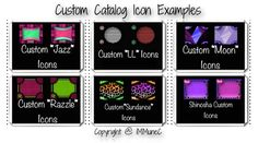 13 Best Catalog Icons created by iMMuneC @ IMVU images in