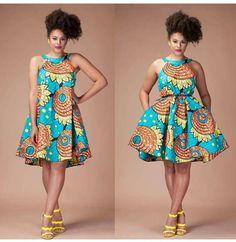 ~DKK ~ Latest African fashion, Ankara, kitenge, African women dresses, African p. from Diyanu African Dresses For Women, African Print Dresses, African Fashion Dresses, African Attire, African Wear, African Women, African Prints, Ankara Fashion, African Style