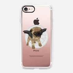 It's not a it's a vampuger ;) one of the cute designs for your new - get it now Casetify Iphone 7 Plus, Halloween Designs, Iphone 7 Cases, Tech Accessories, Pugs, My Design, Phones, Passion, Puppies