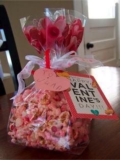 Popcorn Valentine!