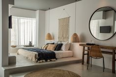 Modern bohemian bedroom design ideas decorating my home style before Bohemian Bedroom Design, Bohemian Bedroom Decor, Bohemian Decorating, Bathroom Interior Design, Home Interior, Hotel Boheme, Casa Cook Hotel, Home Comforts, Living Room Designs