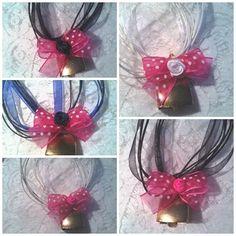 """♥ Trachten Kette ♥ """"Glöckchen"""" 5-450 pink von ikimmis-passion auf DaWanda.com"""