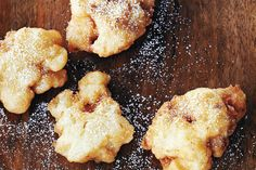 Apple Fritters—These scrumptious treats are a must during apple season. But who are we kidding? These fritters are best served warm, so gather everyone in the kitchen to enjoy them as soon as they're ready.