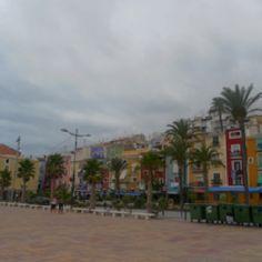 I took this photo in Villa Joyosa, Spain. I want to live here!