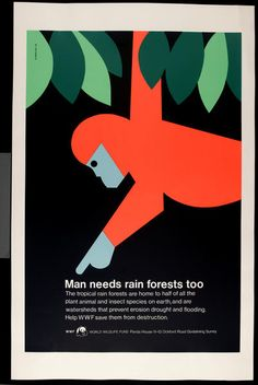Retro Posters Celebrate The Legacy Of A Graphic Design Pioneer - DesignTAXI.com