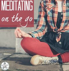Too busy to meditate? All you need is a few minutes ... and you can do it on the go!