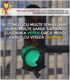 Ştiai asta despre semafoarele din trafic? - SuperHack.ro