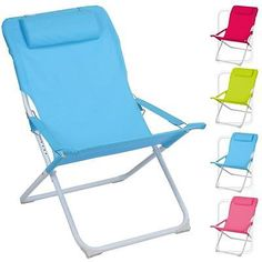 Adjustable #folding padded beach deck chair camping garden #patio #foldable seat,  View more on the LINK: 	http://www.zeppy.io/product/gb/2/400963367099/