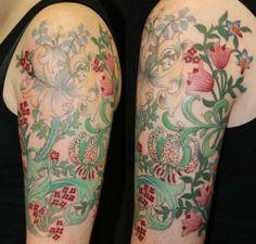Tattoo Culture | World Ink Unity | Tattoo Artists & Tattoo Art Gallery. Flower sleeve.
