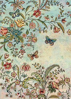 BugArt Decoratives ~ Butterfly Flora. DECORATIVES Designed by Jane Crowther.
