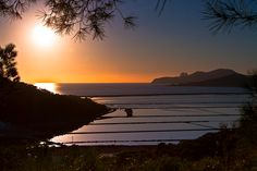 An incredible sunrise over Salinas,Ibiza