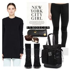 """""""SVMOSCOW"""" by selmir ❤ liked on Polyvore featuring DRKSHDW, Lost & Found, Kate Spade, Y's by Yohji Yamamoto and Ann Demeulemeester"""