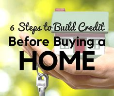 6 Steps to Build or Repair Your Credit Before Buying a Home | Money Girl #creditrepairloans