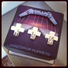Master of puppets cake