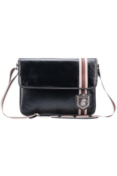 Compact leather men's bag for laptop Nordweg... Bolso masculino compacto en cuero para portátil Nordweg...